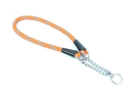 Aminela obojek lano - Série G, velikost 14x55, oranžová/šedá