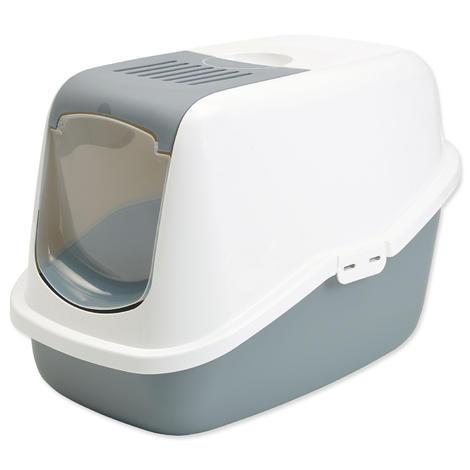 Toaleta SAVIC Nestor bílo - šedá