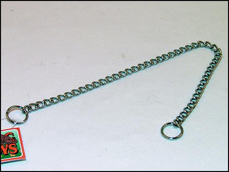 Obojek FLAMINGO řetěz stahovací  45 cm