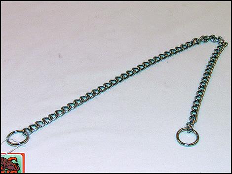 Obojek FLAMINGO řetěz stahovací  50 cm