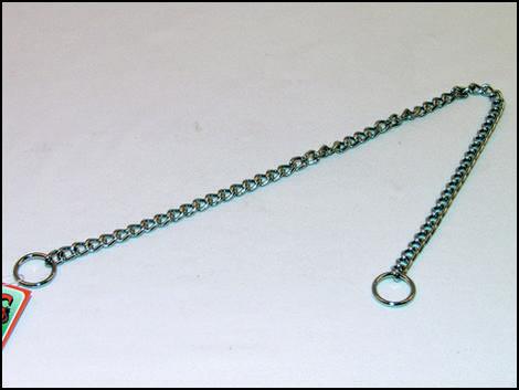 Obojek FLAMINGO řetěz stahovací  55 cm