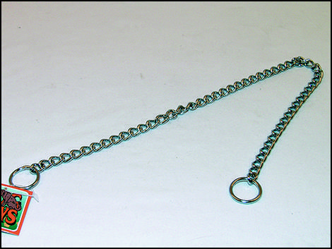 Obojek FLAMINGO řetěz stahovací  60 cm