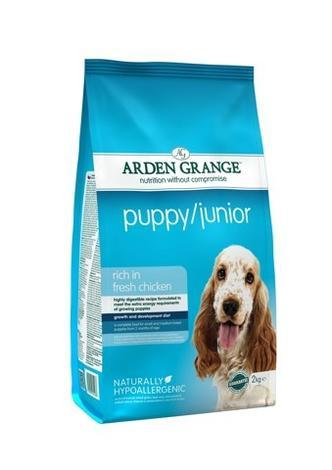 Granule Arden Grange Puppy/Junior rich in fresh Chicken 6kg