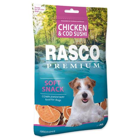 Pochoutka RASCO Premium sushi z tresky a kuřete