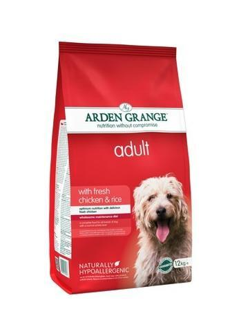 Granule Arden Grange Adult with fresh Chicken & Rice