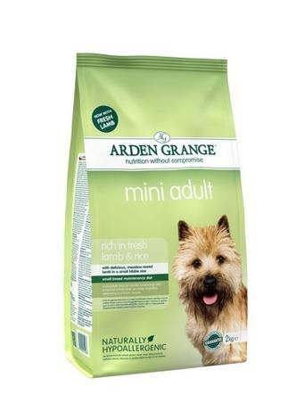 Granule Arden Grange Mini Adult rich in fresh Lamb & Rice