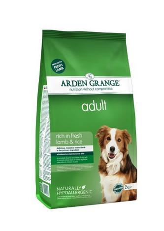 Granule Arden Grange Adult rich in fresh Lamb & Rice 6kg