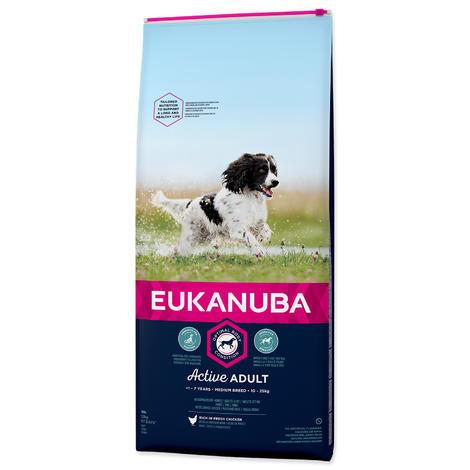 EUKANUBA Dog Adult Medium Chicken 12kg