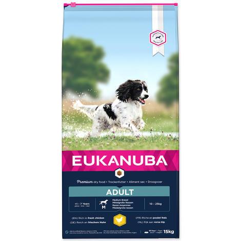 EUKANUBA Adult Medium Breed 15kg