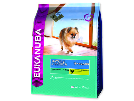 EUKANUBA Mature & Senior Toy Breed 800g