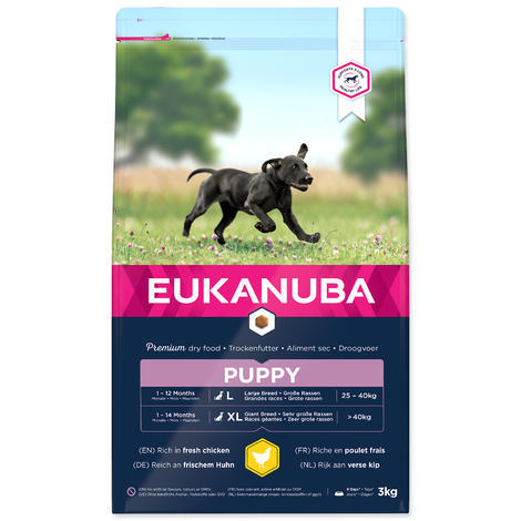 EUKANUBA Puppy & Junior Large Breed 3kg