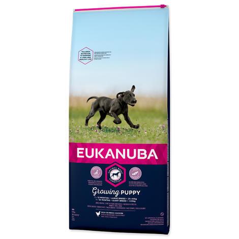 EUKANUBA Dog Puppy Large Chicken 12kg