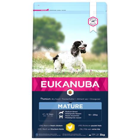 EUKANUBA Mature & Senior Medium 3kg
