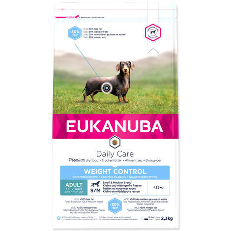 EUKANUBA Adult Small Weight Control 1kg / 3kg 3kg