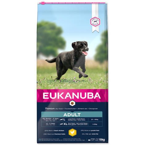 EUKANUBA Adult Large Breed - 1