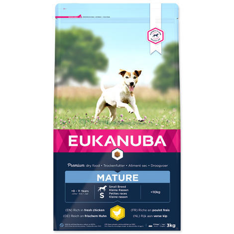 EUKANUBA Mature & Senior Small 3kg
