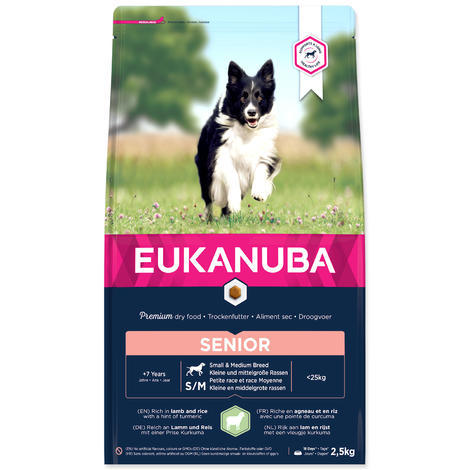 EUKANUBA Mature & Senior Lamb & Rice 2,5kg