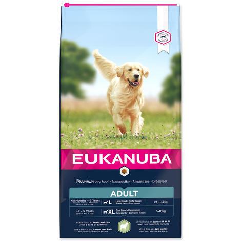 EUKANUBA Adult Large Breed Lamb & Rice 12kg