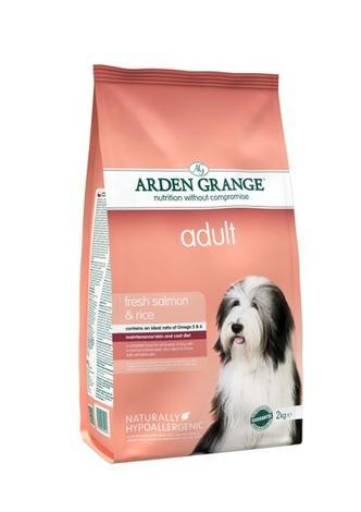 Granule Arden Grange Adult fresh Salmon & Rice