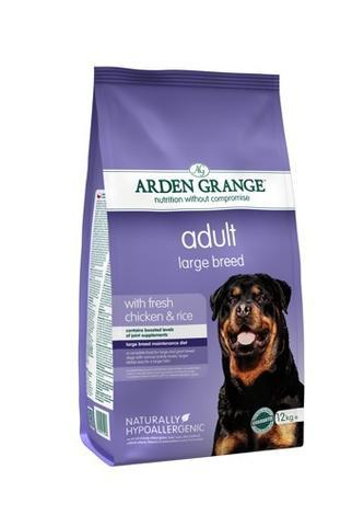 Granule Arden Grange Adult Large Breed with fresh Chicken & Rice