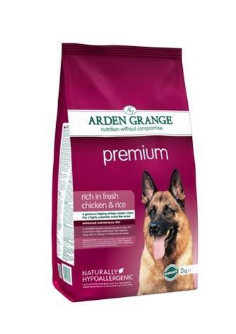 Granule Arden Grange Premium rich in fresh Chicken & Rice