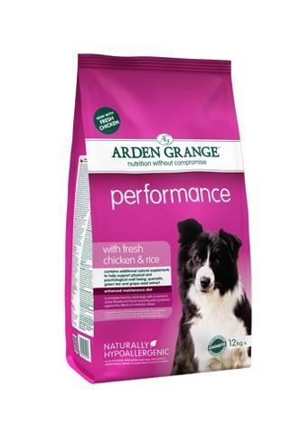 Granule Arden Grange Performance with fresh Chicken & Rice