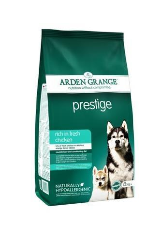 Granule Arden Grange Prestige rich in fresh Chicken