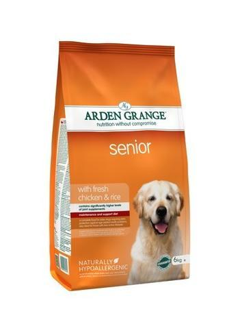 Arden Grange Senior with fresh Chicken & Rice 2kg/6kg/12kg