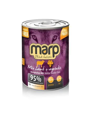 Marp Mix konzerva pro psy jehně+zelenina