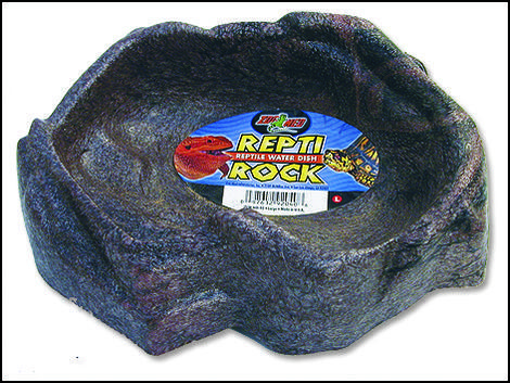 Miska zoo Repti Rock velká 22 x 15 cm