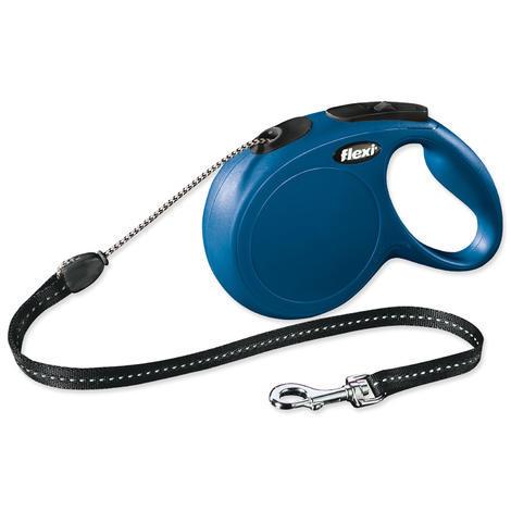 Vodítko FLEXI Classic New lanko modré  M