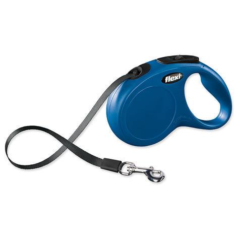 Vodítko FLEXI Classic New páska modré  S