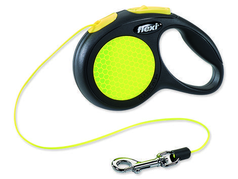 Vodítko FLEXI Classic New Neon lanko  XS