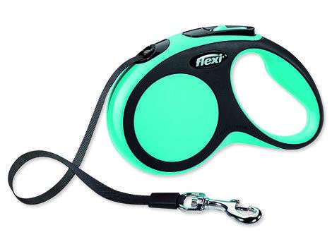 Vodítko FLEXI New Comfort páska modré  S
