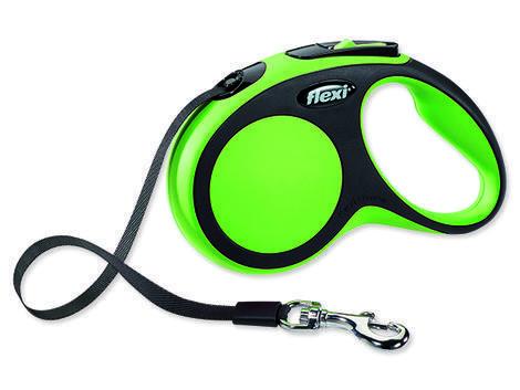 Vodítko FLEXI New Comfort páska zelené  S