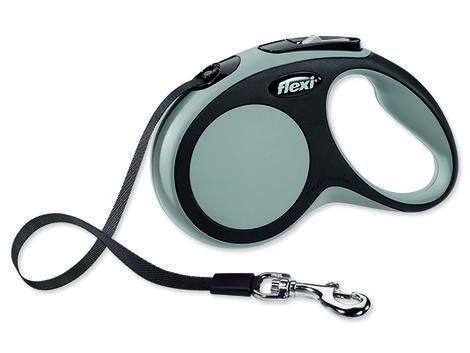 Vodítko FLEXI New Comfort páska šedé  S