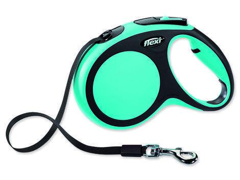 Vodítko FLEXI New Comfort páska modré  M