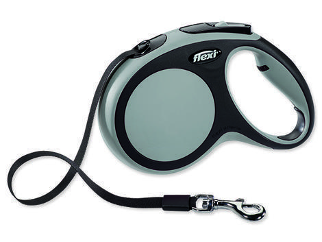 Vodítko FLEXI New Comfort páska šedé  M