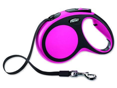 Vodítko FLEXI New Comfort páska růžové M