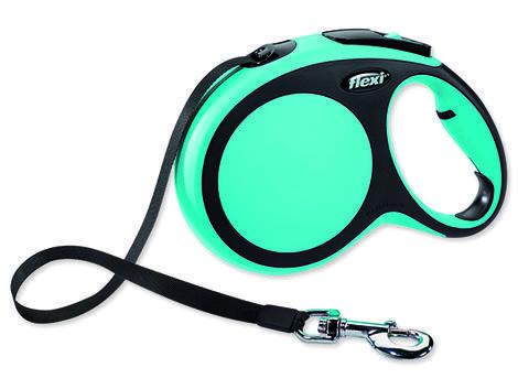 Vodítko FLEXI New Comfort páska modré 8 m L
