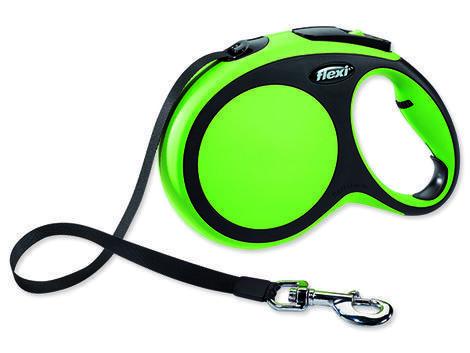 Vodítko FLEXI New Comfort páska zelené 8 m L