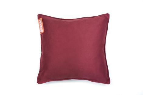 Aminela polštářek 40x40cm červená