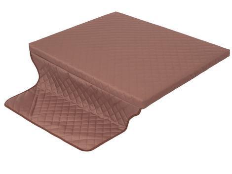 Matrace s potahem Cover Light Brown