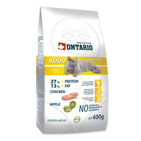 Granule ONTARIO Adult Indoor 400g