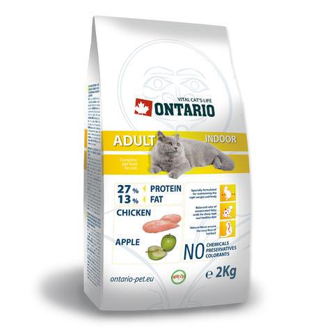 Granule ONTARIO Adult Indoor 2kg