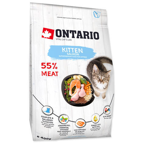 ONTARIO Kitten Salmon