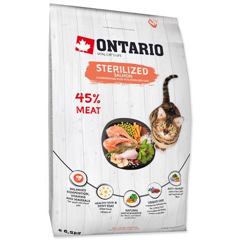 ONTARIO Cat Sterilised Salmon