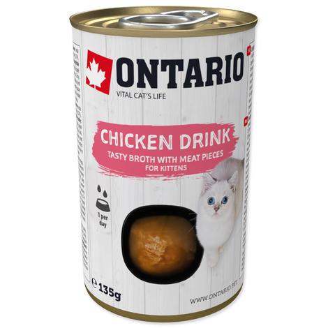 ONTARIO Kitten Drink Chicken 135g