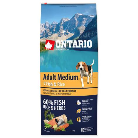 ONTARIO Adult Medium Fish & Rice  - 1