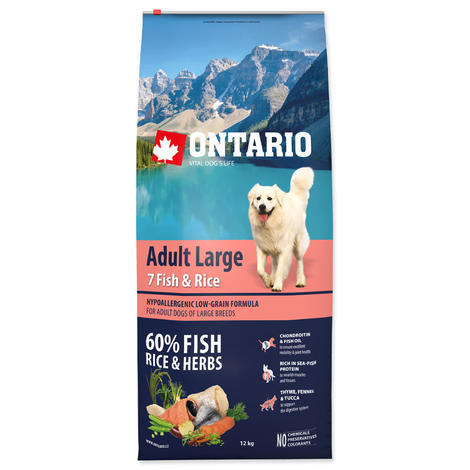 ONTARIO Adult Large Fish & Rice  - 1